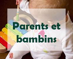 Cours de groupe pour parents et bambins